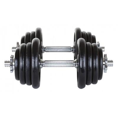 Гантели чугунные Hop-Sport 2 x 20 кг