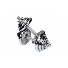 Гантели хромированные Hop-Sport 2 x 10 кг