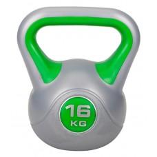 Гиря (винил) Hop-Sport 16 кг