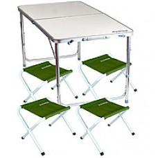 Комплект мебели складной (стол и 4 стула) ST 401 RA 1106