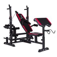 Регулируемая скамья для тренировок Hop-Sport HS-1075 парта скотта