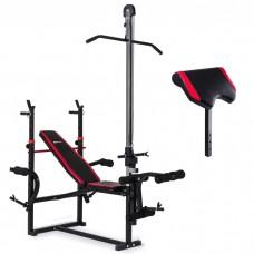 Регулируемая скамья Hop-Sport HS-1070 парта скотта, верхняя тяга