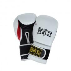 Перчатки боксерские Benlee Madison Deluxe Rocky Marciano 194021 Черный/Белый (blk/white)