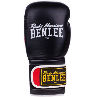 Боксерские перчатки BENLEE SUGAR DELUXE (blk/red) 194022