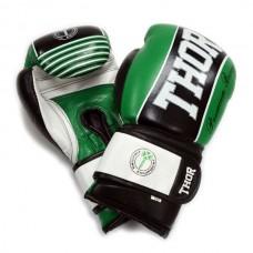 Боксерские перчатки THOR THUNDER GRN 529/12(Leather)