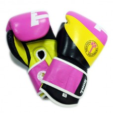 Боксерские перчатки женские THOR KING POWER (Leather) PINK 8003/01