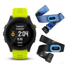 Мультиспортивные часы навигатор пульсометр Garmin Forerunner 935 Tri Bundle Force Yellow 010-01746-06