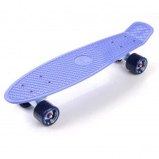 Скейтборд Пенни-борд Penny Board Meteor Blueberry 23998/blueberry