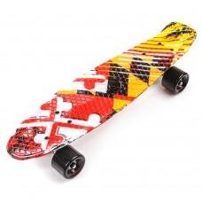 Скейтборд Пенни-борд Penny board Meteor MULTICOLOR Formula1 24469/formula1
