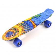 Скейтборд Пенни-борд Penny board Meteor MULTICOLOR Hawai 24466/hawajska