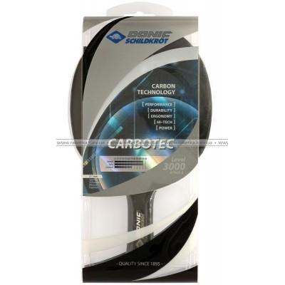 Ракетка для настольного тенниса Donic Schildkrot Carbotec 3000 арт 75-8214