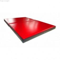 Мат складной ПВХ 150-100-8 см с 2-х частей Тia-sport sm-0143