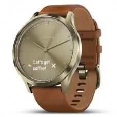 Фитнес часы пульсометр Garmin vivomove HR Premium Gold-Gold 010-01850-25