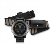 Мультиспортивные часы навигатор пульсометр Garmin fenix 3 Grey Performer Bundle 010-01338-11