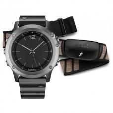 Мультиспортивные часы навигатор пульсометр Garmin Fenix 3 Sapphire Performer Bundle 010-01338-26