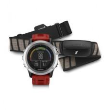 Мультиспортивные часы навигатор пульсометр Garmin fenix 3 Silver Performer Bundle 010-01338-16
