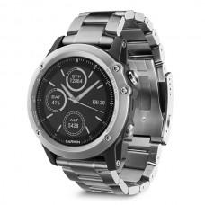 Мультиспортивные часы навигатор пульсометр Garmin Fenix 3 Sapphire Titanium 010-01338-41