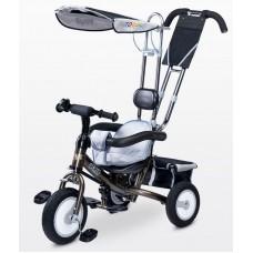Велосипед трехколесный Caretero Derby grey