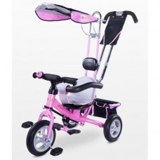 Велосипед трехколесный Caretero Derby pink