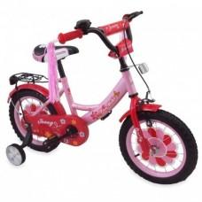 Велосипед Alexis-Babymix R777G-14-pink