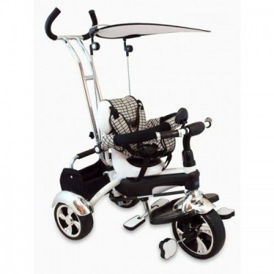 Велосипед трехколесный Alexis-Babymix UR-DY-GR01A-white