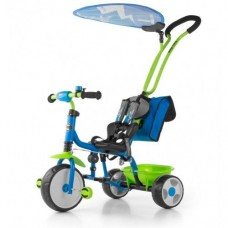 Велосипед Milly Mally Boby Deluxe 2015 blue-green