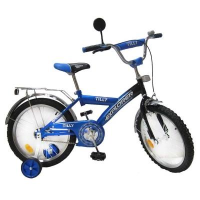 Велосипед Tilly Explorer 18 T-21812 blue-black