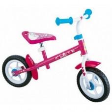 "Беговел STAMP Barbie 10""pink-white"