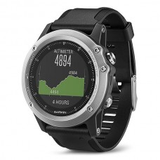 Мультиспортивные часы навигатор пульсометр Garmin fēnix 3 HR Silver Edition 010-01338-77