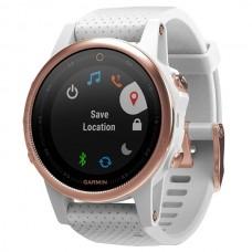 Мультиспортивые часы навигатор пульсометр Garmin Fenix 5S Sapphire 010-01685-17