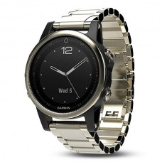 Мультиспортивные часы навигатор пульсометр Garmin Fenix 5S Sapphire 010-01685-15