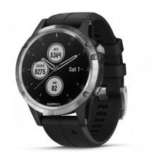 Мультиспортивные часы навигатор пульсометр Garmin Fenix 5 Plus 010-01988-11