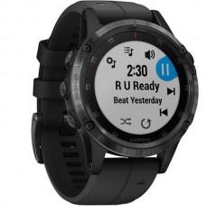 Мультиспортивные часы навигатор пульсометр Garmin Fenix 5S Plus Sapphire 010-01987-03