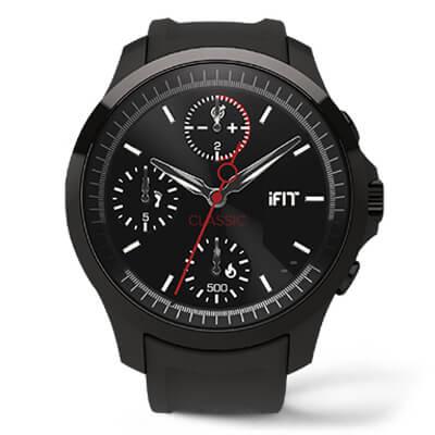 Фитнес-браслет iFit Classic (Black) IFGCLM115