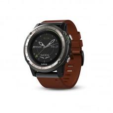 Мультиспортивные авиационные часы Garmin D2 Charlie Leather сапфировое стекло  010-01733-31
