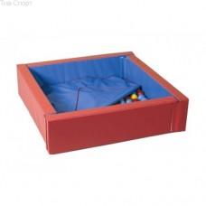 Сухой бассейн с матом 114-114 см Тia-sport sm-0202