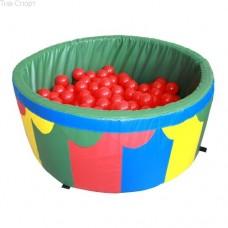 Сухой бассейн для дома с шариками 100-40-5 см Tia-Sport sm-0198