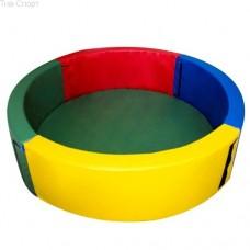 Сухой бассейн круглый 150х40 см Тia-sport sm-0199