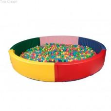 Сухой бассейн круглый 200-40 см Тia-sport sm-0200