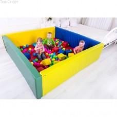 Сухой бассейн с матом 150-200-40 см Тia-sport sm-0204