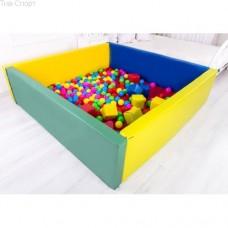 Сухой бассейн с матом 200-200-40 см Тia-sport sm-0205