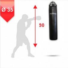 Мешок боксерский Boyko 90х35 кожа на цепях