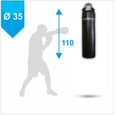Мешок боксерский Boyko кожа 4-5мм на пружинах 110x35
