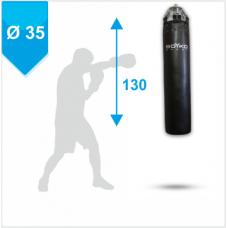 Мешок боксерский Boyko из ткани ПВХ с узлом крепления на 4 пружинах 130х35, 40-55