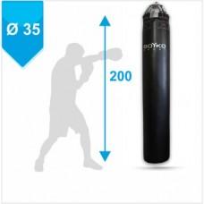 Мешок боксерский Boyko из ткани ПВХ с узлом крепления на 8 пружинах 200х35, 50-80