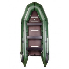 Восьмиместная моторная, килевая, надувная лодка BARK ВТ-420 S