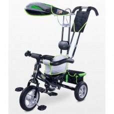 Велосипед трехколесный Caretero Derby green