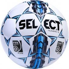 Мяч футбольный SELECT NUMERO 10 FIFA бело/серо/голубой размер 5