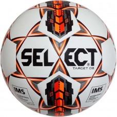 Мяч футбольный SELECT TARGET DB бело/оранжево/черный размер 5