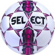 Мяч футбольный SELECT PALERMO бело/серо/розовый размер 5